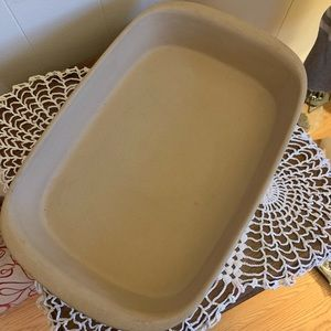 Pampered Chef 9 x 13 stoneware baker. NWOT.